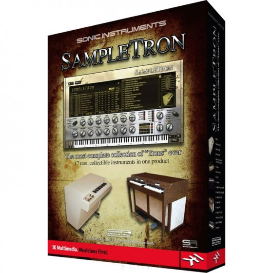 IK Multimedia SampleTron Instruments RETAIL [D01-D03]-R2R